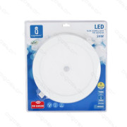 Placa Led Downlight Slim E6 24W 6000K 225mm Aigostar c/Sensor Movimento