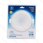 Placa Led Downlight E6 15W 6000K 120-130mm Aigostar