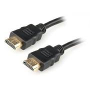Cabo HDMI 4K 0,5 metro v1.4 com Rede Gembird Cablexpert