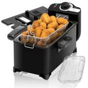 Fritadeira Cecotec CleanFry 3L Black 2000w