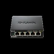 Switch D-Link DGS‑105GL 5-Port Gigabit Unmanaged Desktop
