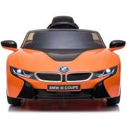 Carro Elétrico BMW i8 12V Bateria c/ Comando Laranja