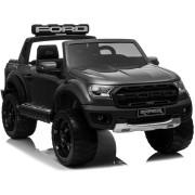 Carro Elétrico Ford Ranger Raptor 4x2 F150R 12V Bateria c/ Comando Preto Metalizado