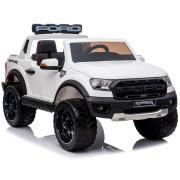 Carro Elétrico Ford Ranger Raptor 4x2 F150R 12V Bateria c/ Comando Branco