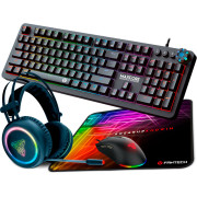 Fantech RGB Gaming Kit Silver