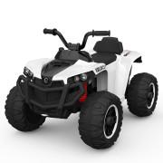 Moto 4 Elétrica ATV 4x2 Velocity Bateria 12v Branca