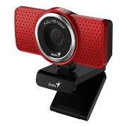 Webcam Genius Ecam 8000 Full HD 1080p Red
