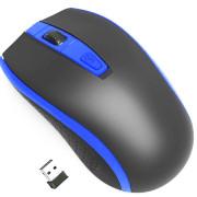 Rato Sem Fios Gembird MUSW-107-B Preto/Azul