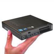 Computador Recondicionado Lenovo M72e Mini Intel i5-3470T, 8GB, 128GB SSD, Windows 7 Pro