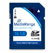Cartão Mediarange SD HC 16GB - Class 10 - 45mb/s