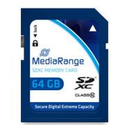 Cartão Mediarange SD XC 64GB - Class 10 - 60mb/s