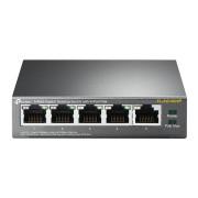 Switch Gigabit 5 Portas TP-Link TL-SG1005P PoE