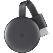 Google Chromecast 3 TV Streaming Preto