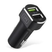 Carregador USB 1Life pa:dual usb auto