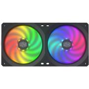 Pack 2 Ventoinhas CoolerMaster MasterFan SF240R RGB LED