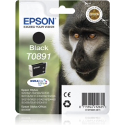 Tinteiro Epson T0891 Preto Original Série Macaco (C13T08914011)