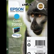 Tinteiro Epson T0892 Azul Original Série Macaco (C13T08924011)