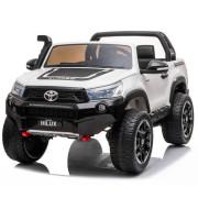 Carro Elétrico Toyota Hilux 4x4 24V Bateria c/ Comando Branco