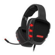 Headset Ozone Rage Z90 Real 5.1 Surround Pro Preto  OZRAGEZ90 - ONBIT