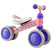 Bicicleta Equilíbrio Bello Rosa Rodas Duplas