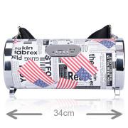 Coluna Portátil Z8Box Bazooka Bluetooth 20W US