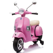 Scooter Elétrica Vespa Piaggio PX150 12v Rosa