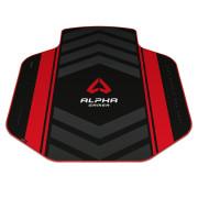 Tapete de Cadeira Alpha Gamer Decan Vermelho