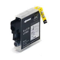 Tinteiro Brother Compatível LC980BK / LC985 / LC1100BK Preto