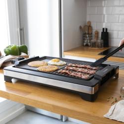 Grelhador Cecotec Tasty&Grill 2000 Inox MixStone