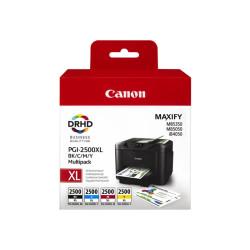 Conjunto 4 Tinteiros Canon Maxify PGI-2500 XL Original (9254B004)