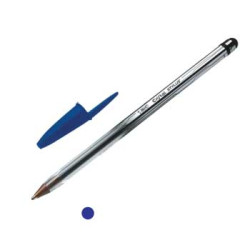 Esferográfica Ball Point BIC Cristal p/ Tablets e Smartphones Azul