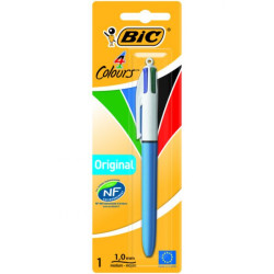 Esferográfica Retráctil Ball Point BIC 4 Cores