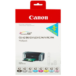 Multipack 8 Tinteiros Canon Originais CLI-42 (6384B010)