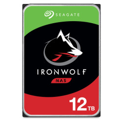 Disco Rígido Seagate IronWolf 12TB - 3.5´ 256MB (ST12000VN0008)