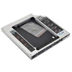 """Adaptador HDD/SSD Caddy 2,5"""" para Drive Portatil 12.7 mm 1Life"""