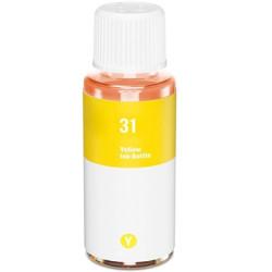 Tinta HP 31 Amarelo Compatível 70ml (1VU28AE)