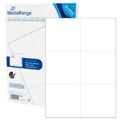 Etiquetas Adesivas Permanentes Mediarange - 105 x 99mm (300 un)