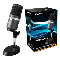 Microfone AVerMedia AM310 USB