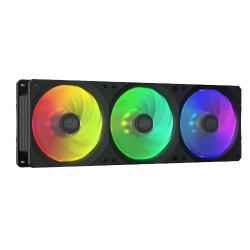 Pack 3 Ventoinhas CoolerMaster MasterFan SF360R RGB LED