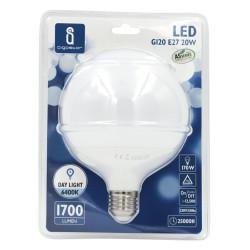 Lâmpada LED E27 20W 6400K Luz Fria 1700 Lúmens A5 G120 Aigostar