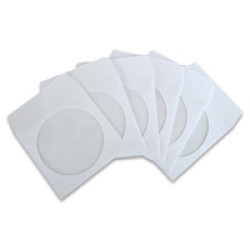 Bolsas Papel para CD/DVD individuais - Pack 50   - ONBIT
