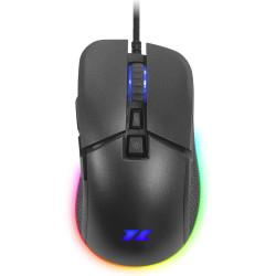 Rato Óptico 1Life gm:nuke 6400DPI RGB Preto
