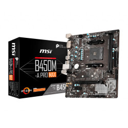 Motherboard MSI B450M-A Pro Max - sk AM4