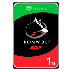 Disco Rígido Seagate IronWolf 1TB - 3.5´ 64MB (ST1000VN002)