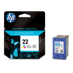 Tinteiro HP 22 Original Tricolor (C9352AE)   - ONBIT