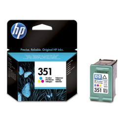 Tinteiro HP 351 Original Tricolor (CB337EE)   - ONBIT