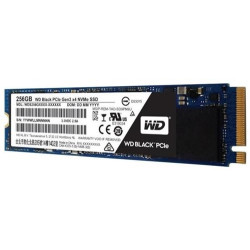 Disco SSD Western Digital Black PCIe M.2 - 256GB
