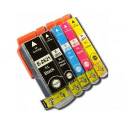 Conjunto 5 Tinteiros Epson 26 XL - ref. T2621/T2631/2/3/4   - ONBIT
