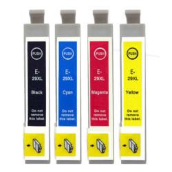 Conjunto 4 Tinteiros Epson 29 XL - ref. T2991/2/3/4   - ONBIT