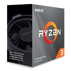 Processador AMD Ryzen 3 3100 Quad-Core 3.6GHz c/ Turbo 3.9GHz 18MB Sk AM4